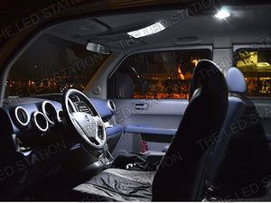 White SMD LED Interior Light Kit Honda Element 03-08