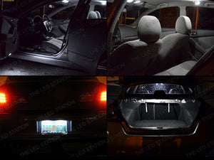 White SMD LED Interior Lights Package for 07-12 Altima 4dr