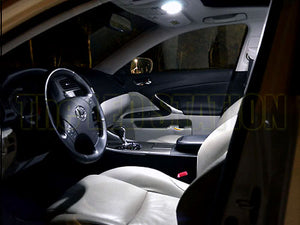 LED Interior Dome / Map Light Kit Lexus IS250 IS350 06-13