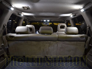 White LED Interior Dome Door Trunk License Plate Lights Honda Pilot 03-08