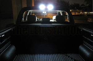 White LED Rear Cargo Lights Silverado Pick Up 07-12