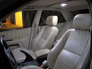 White LED Interior Dome Map Light Kit - Lexus IS300 Sedan