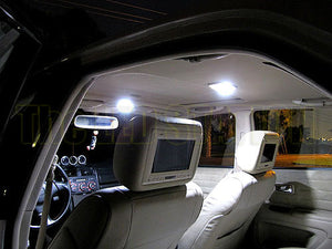 White LED Interior Dome Map Trunk License Plate Lights Kit Lexus IS300 Sedan