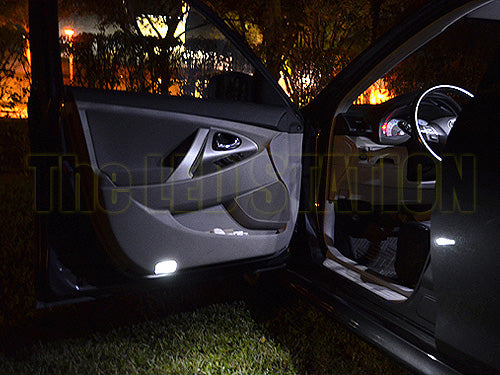 White LED Interior Lights Dome Map Door Trunk For Toyota Camry 2007 2011 (8  Pcs Kit)
