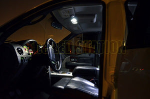 White SMD LED Interior Map Dome Lights F150 Crew Cab 04-08