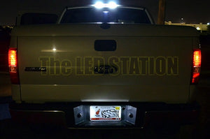 White SMD LED License Plate Lights F150 Crew Cab 04-08