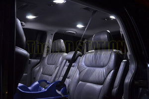 White LED Interior Dome Lights Kit Odyssey 05-10