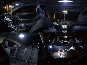 White LED Interior Dome and Trunk Lights Kit 05-09 Scion TC