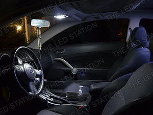 White LED Interior Dome Lights 05-09 Scion TC
