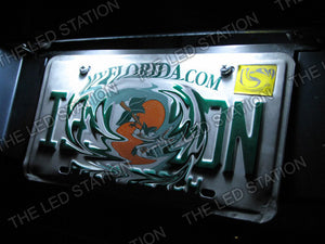 White LED License Plate Lights 05-09 Scion TC
