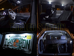 2011-2016 Sienna White SMD LED Interior Lights Package (11 pcs kit)