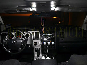 White LED Interior and License Plate Lights Package 07-13 Tundra (10 pcs)