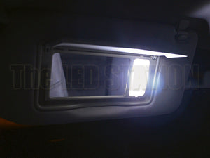 Infiniti G37 Coupe White LED Vanity Mirror Lights