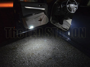 Infiniti G37 Coupe White SMD LED Courtesy Door Step Lights Kit