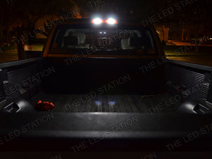 White SMD LED Interior Cargo and License Lights Package 09-13 RAM 2500