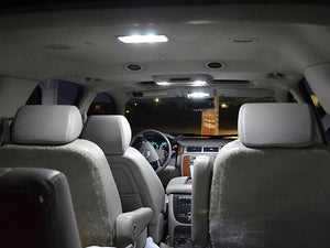 White 5050 SMD LED Interior Map Dome Lights Suburban Tahoe 2007-2013