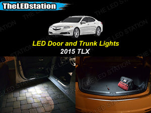 White SMD LED Door and Trunk Lights TLX 2015-2016
