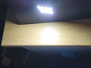 White SMD 24-LED Interior Light Panel with multiple adapters