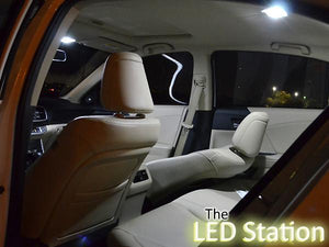 White LED Interior Lights Kit Honda Accord 2013-2017 (Interior + Trunk)