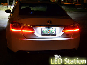 Honda Accord LED License Plate Lights 2013-2017