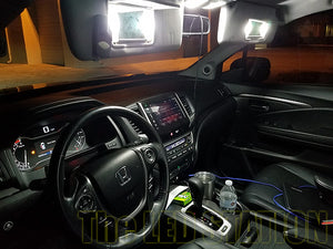 Honda Pilot LED Sun Visor Lights 2016-2017 (SMD)