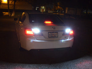 Honda Accord White LED Reverse Light Bulbs (2013-2017)