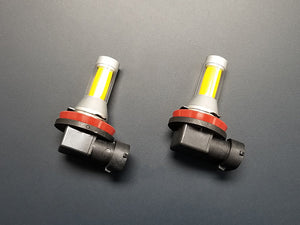 H11 Yellow LED Fog Light Bulbs COB Type (Pair)