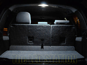 White LED Interior Lights Kit 2007-2017 Toyota Sequoia (Interior, Cargo, License Plate)