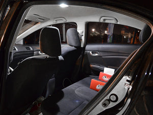 SMD LED Interior Light Kit (Map Dome Trunk License) Civic 2012-2015