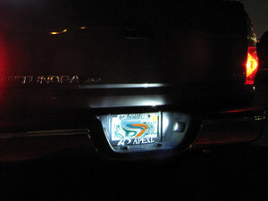 White LED Interior Lights Kit Tundra 14-18 Access / Double Cab (Interior, Vanity, License, Cargo)