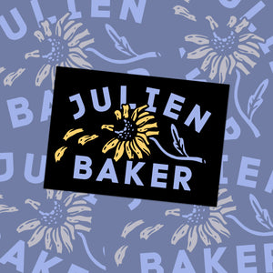 "Julien Baker ""Flower"" Sticker"