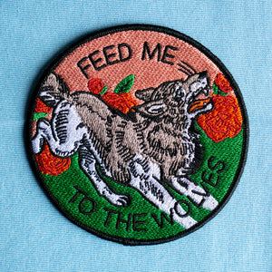 "JB x Stay Home Club ""Feed Me to the Wolves"" 3.5"" Patch"