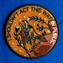 "JB x Stay Home Club ""I Shouldn't Act..."" 3.5"" Patch"