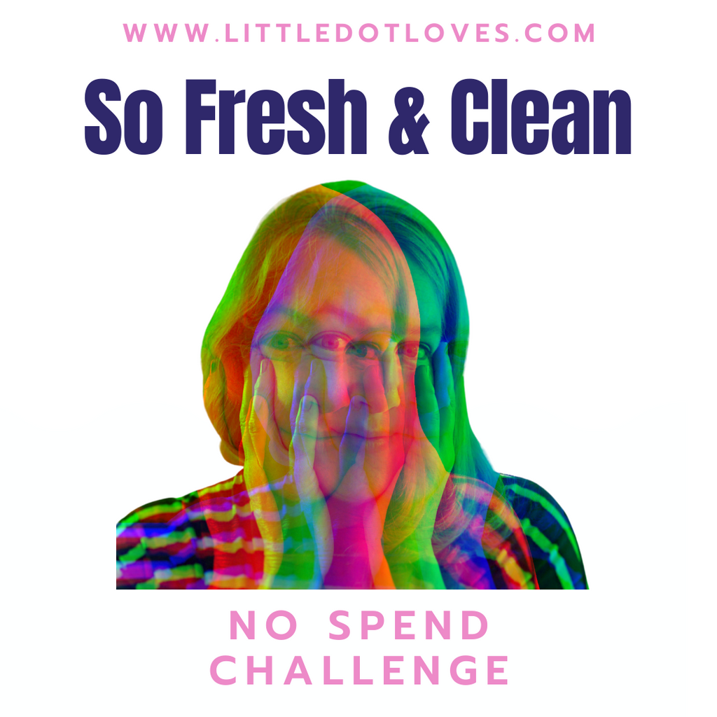 Clean Beauty | 30 Day No Spend Challenge