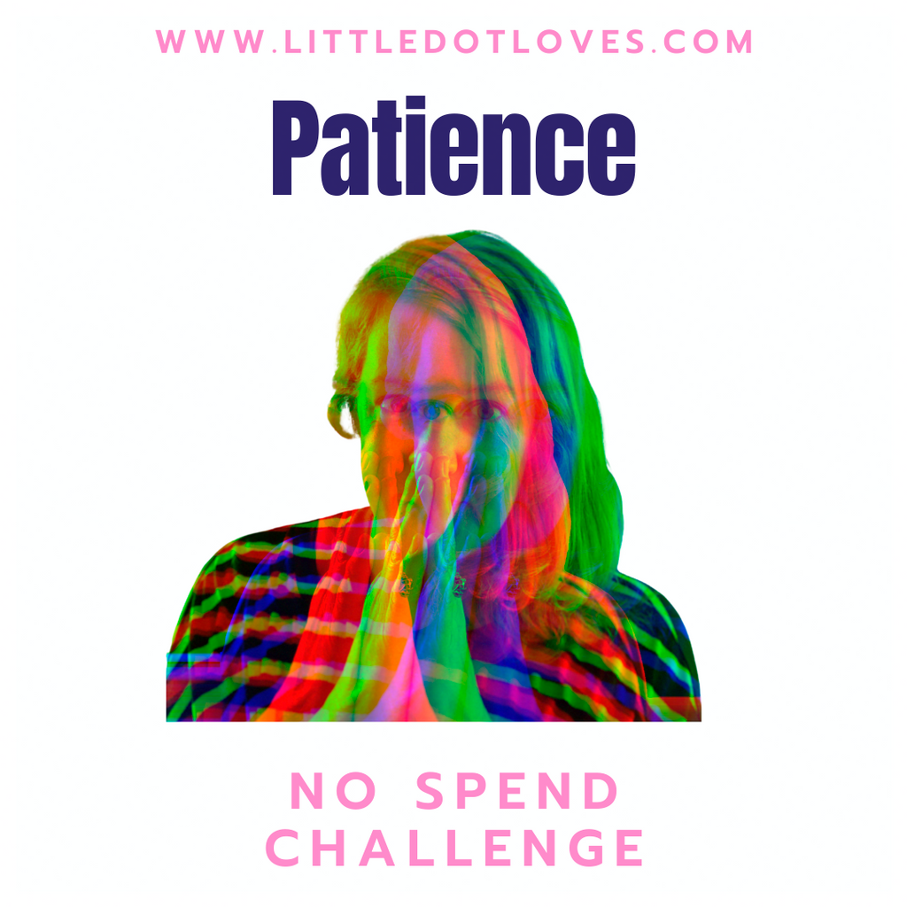 Just a bit of Patience!!  | 30 Day No Spend Challenge