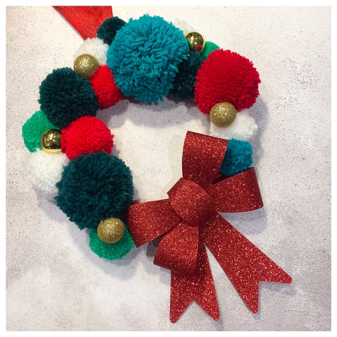 Pom Pom Wreath Kit