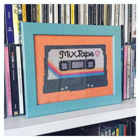 Mix Tape | Cross Stitch Kit