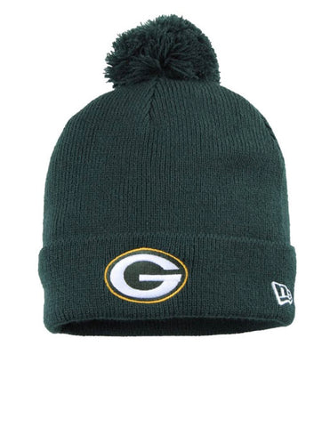 Green Bay Packers Green Knitted Cuffed Hat