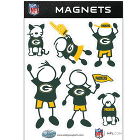 Packers Family Magnet Set