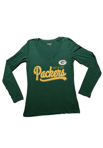 Green Bay Packers Women's Team Apparel Long Sleeve Tee