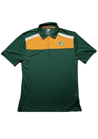 Green Bay Packers Team Apparel Green Polo