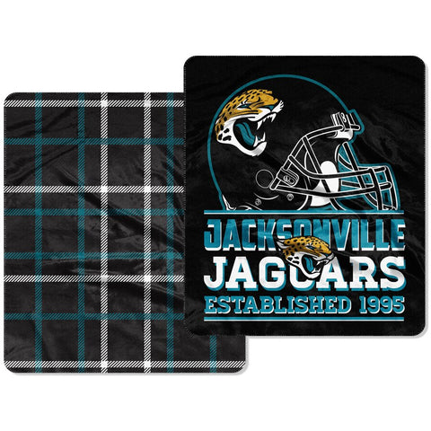 "Jaguars 60""x70"" Cloud Throw"