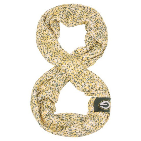 Green Bay Packers Knitted Infinity Scarf