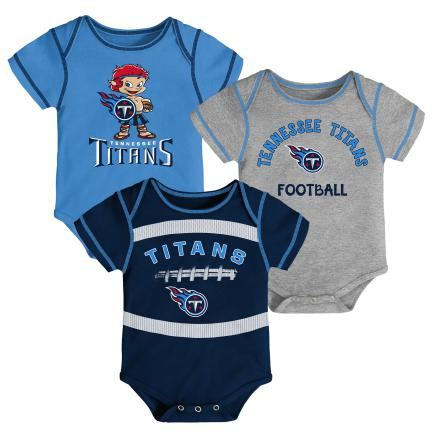 Tennessee Titans 3 Piece Creeper Set