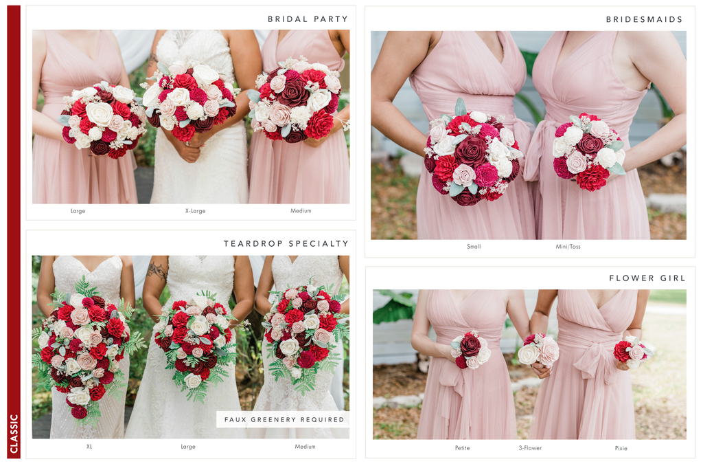 Rustic Charm Bridesmaid Bouquet Bouquets Pine and Petal Weddings
