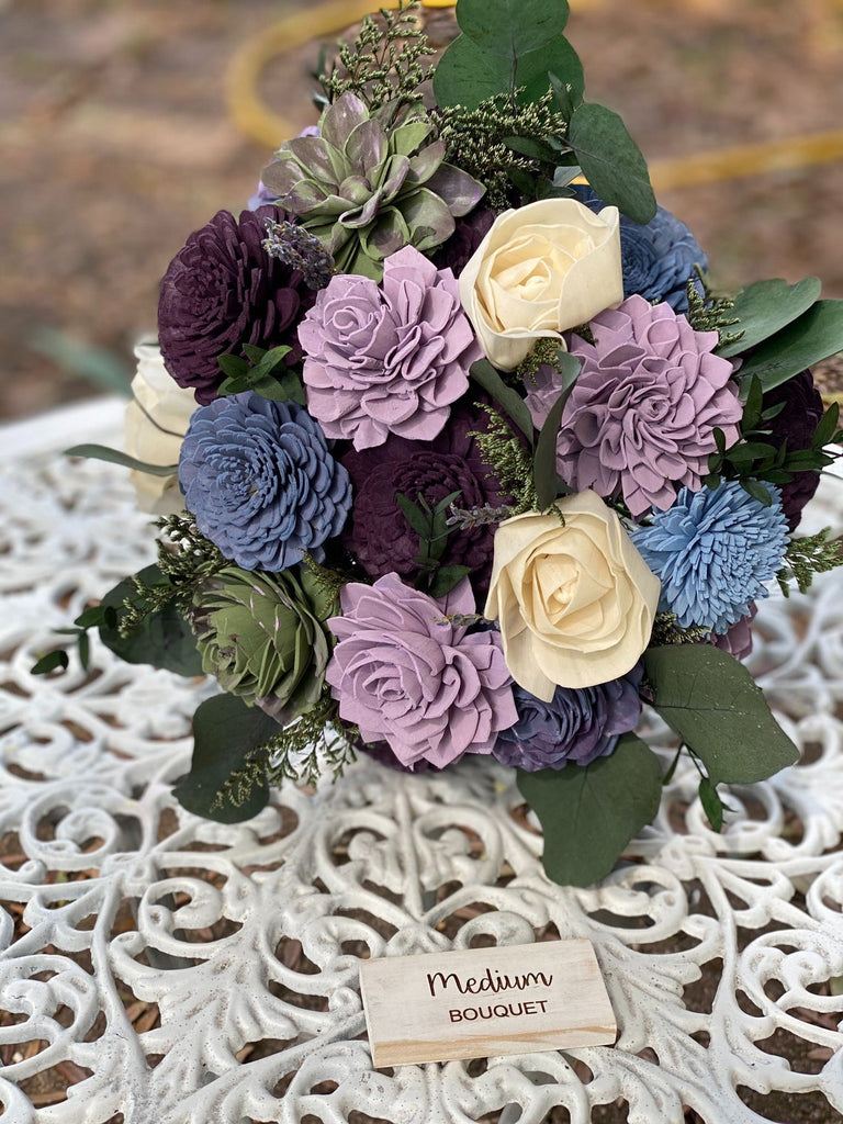 Fairytale Succulent Bouquet Bouquets Pine and Petal Weddings