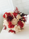 Red Dunes Bouquet Bouquets Pine and Petal Weddings