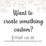 White Christmas Fall & Winter Collection Pine and Petal Weddings