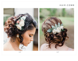 Soft Succulent Hair Comb Hairpieces & Accessories Pine and Petal Weddings