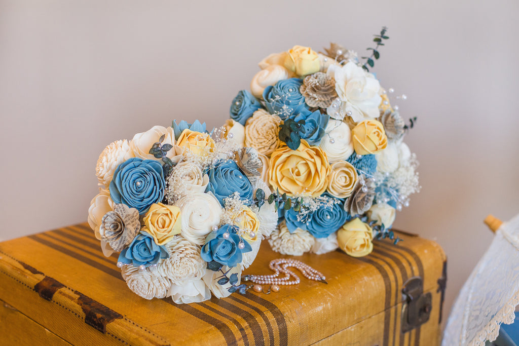 Vintage Bridal Bouquet Bouquets Pine and Petal Weddings